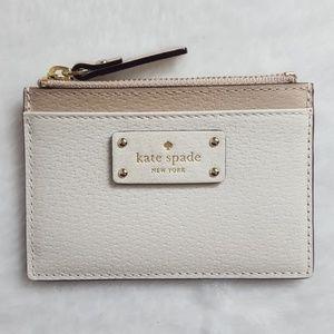🎀NWT🎀 Kate Spade 2 Tone Adi Card Holder/Case